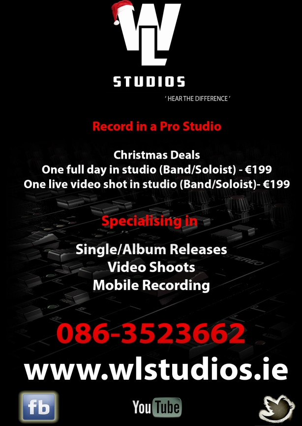 Xmas Studio Advert 2017